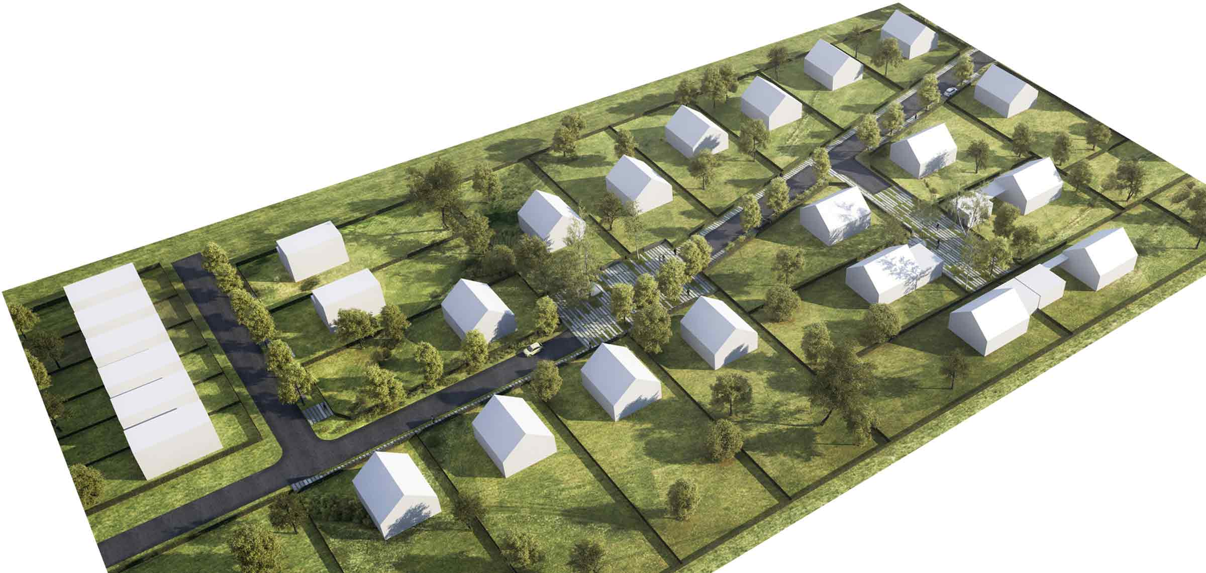 Pozemky Mohelnice - Stavební parcely - Řadové domy